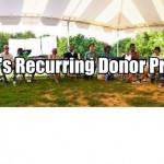 Recurring Donor Program