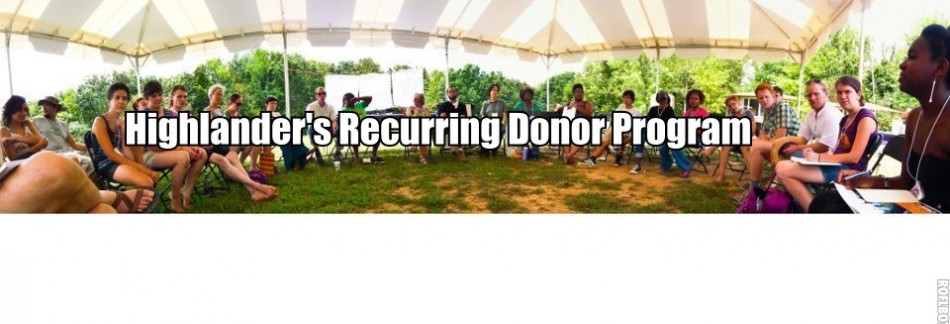 Recurring Donor Program